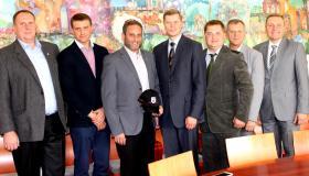 Susitikimas su Kauno miesto meru A. Kupčinsku
