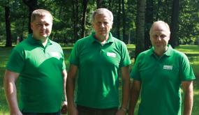 VšĮ Voluntarius LT steigėjai. Iš kairės - A. Šimkus, R. Mikalauskas, A. Alekrinskis.